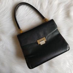 Koret 1940s vintage leather handbag/shoulder purse